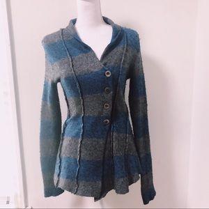 Free People | Everyday Striped Wool Cardigan